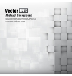 Abstract background light grey with basic geometry vector