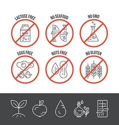 Food intolerance vector
