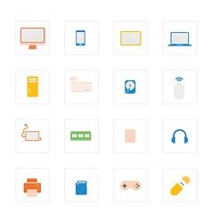 Icon computerdevicecolour vector