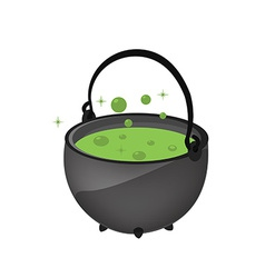 Magic kettle vector image vector image