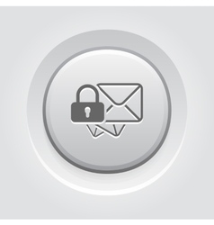 Secure Mail Icon vector image