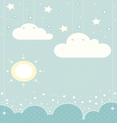 Clouds123 vector