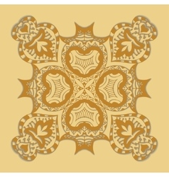 Seamless gold pattern vector