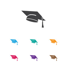 of education symbol on vector image vector image