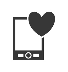 Smartphone gadget technology icon graphic vector image