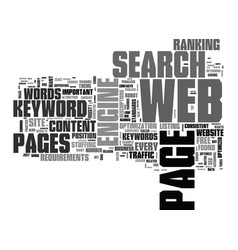 What s the big deal over seo text word cloud vector