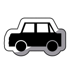 Isolated car design vector