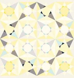 Kaleidoscope glass mosaic tiles seamless vector