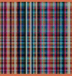 checks fabric tartan seamless background vector image