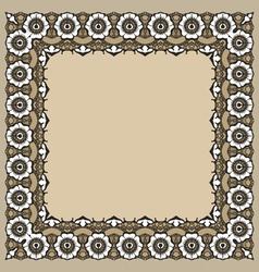 FrameMehndy04 vector image