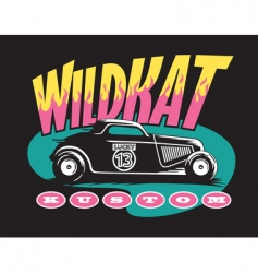 Wildcat custom vector