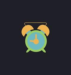 Alarm clock computer symbol vector