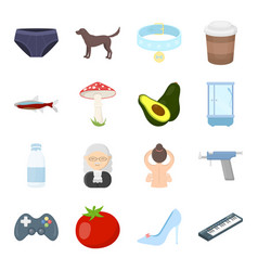 business picnic science and other web icon in vector image