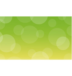 Abstract of bokeh green background light vector
