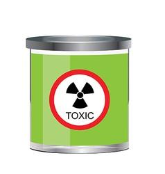 Poison toxic symbol vector