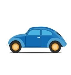Blue car vector image
