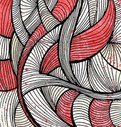 Doodles abstract background vector image vector image