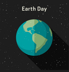 earth day banner vector image vector image
