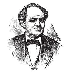 phineas taylor barnum vintage vector image vector image