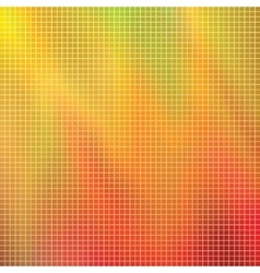 abstract composition mosaic vector image vector image