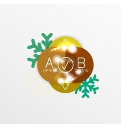 Christmas and new year sale sticker templates vector