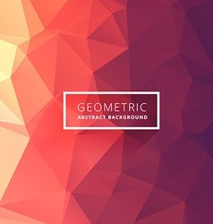 Clean low poly background vector