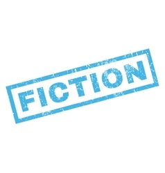 Fiction rubber stamp vector