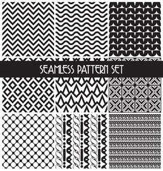 set paterna2 vector image vector image