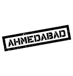Ahmedabad rubber stamp vector image
