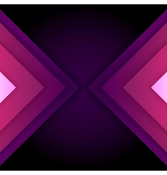 Abstract purple triangle shapes background vector
