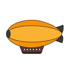 dirigible icon image vector image
