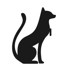 Egypt cat vector