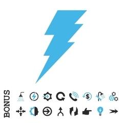 Execute flat icon with bonus vector