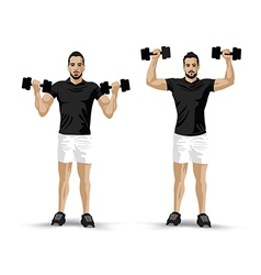 Training pose vector