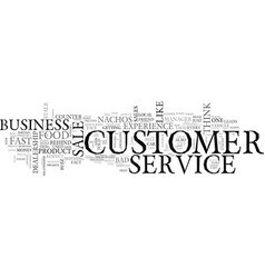 What s the customer service buzz about your vector