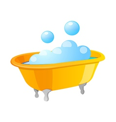 Icon bath vector