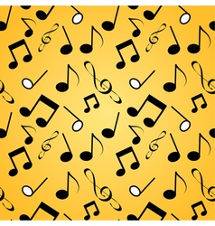 Musical background seamles vector