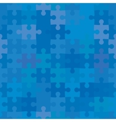 Seamless puzzle background vector
