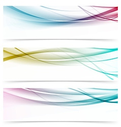 Contemporary transparent speed swoosh wave header vector
