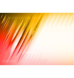 Abstract lines red vector