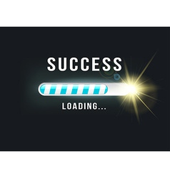 Loading success vector
