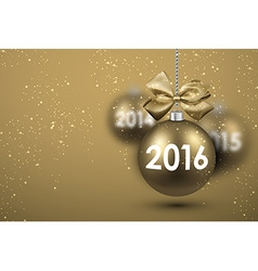 2016 new year card vector