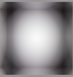 black and white halftone background vector image vector image