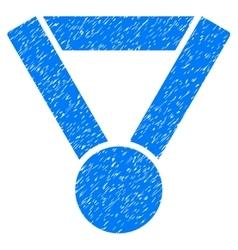 Champion award grainy texture icon vector