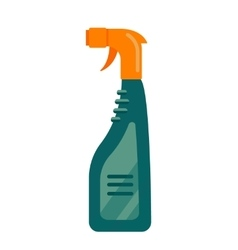 Cleaning service cleancer house tool icon logo vector