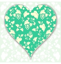 Heart valentine vector