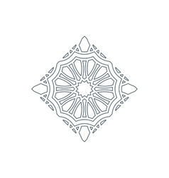 lineart ornament vector image vector image