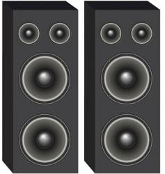 Loudspeakers vector