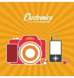 Electronics icons design vector