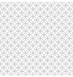 Circle seamless pattern vector